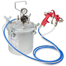 Prowin Tools 10 Litre 1.2mm Nozzle Pressure Feed Spray Gun Systems PW10LTRK12