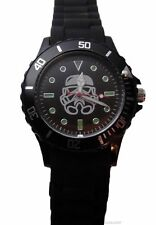Star Wars STORM TROOPER HELMET Silicone Band WRIST WATCH