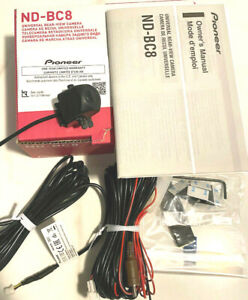 Pioneer ND-BC8 Universal Rear View Camera CMOS Sensor Wide Angle Brand New