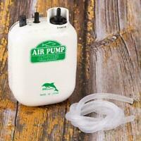 Wasserresistente Batterie Luftpumpe Angeln Sauerstoff Luftpumpe Aquarium B5 E3H0
