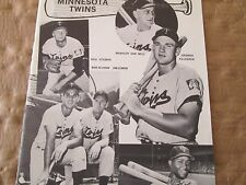 1963 JKW Minnesota  Twins with KILLEBREW