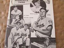 1963 JKW Minnesota  Twins with KILLEBREW..REDUCED