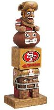San Francisco 49ers Tiki Tiki Totem Statue NFL Football Mascot Sourdough Sam
