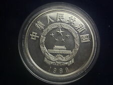 5 Yuan China 1989 Silber Guo Shoujing W/16/994