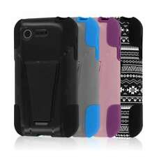 For LG Optimus Zone 2 / Optimus Fuel Case MPERO IMPACT X Kickstand Cover Skin