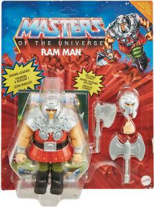 IN STOCK: Masters of the Universe Origins Ram Man (Deluxe Set Wave 2) MOTU
