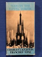 "Man On The Eiffel Tower VHS Rare Cover Art ""Inter global Video"""