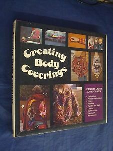 Creative Body Coverings HC DJ Book Tie-Dye Batik Leather Fibers Accessories