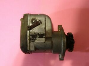 Vintage Fairbanks-Morse Magneto XD1B7S From Wisconsin Engine For Parts or Repair