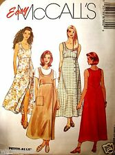 Miss McCalls 8780 Sewing Pattern Pullover Dress Jumper UNCUT Size 8-10-12
