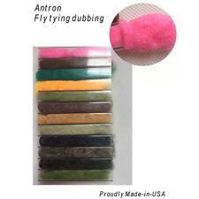 Antron Dubbing Dispenser  Fly Tying - 12 Colors.