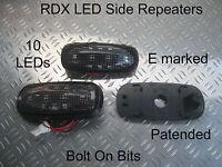 RDX LED DARK side repeaters Rover 75 & Tourer MG ZT ZT-T 1.8 V6 V8 ALL Models
