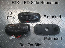 RDX LED DARK Side Repeaters Freelander 1 1998 to 2006 Td4 1.8 V6 GS Xedi ONLY