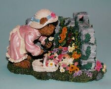 "Boyds Bears ""Elizabeth Bearsley...Garden Time"" butterflies, flowers 2277940 NIB"