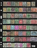 #5691   Early & Inflation era stamps  63 all different / Pre Third Reich Germany