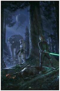 "Star Wars Celebration 2019 ""The Call of Destiny"" PRINT by Jerry VanderStelt"