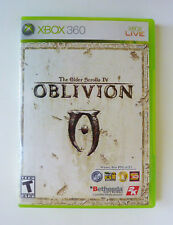 The Elder Scrolls IV: Oblivion (Microsoft Xbox 360, 2006) WITH MAP AND MANUAL