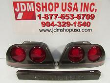 JDM 93-98 Nissan Skyline R33 BNR33 GTS Coupe OEM Tail Lights & Center Garnish
