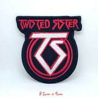 Twisted Sister Heavy Metal Band Iron on Sew on Embroidered Patch #822
