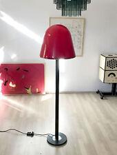 RARE VINTAGE RETRO 1970s 1980s ITALIAN GUZZINI FLOOR LAMP PERSPEX LAMP SHADE