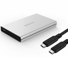 Nekteck Aluminum SATA to USB C Hard Disk Enclosure(Gen 1) HDD/SSD Adapter Case