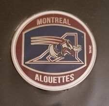 "CFL MONTREAL ALOUETTES 1-1/2"" CHALLENGE FLIPPING COIN"