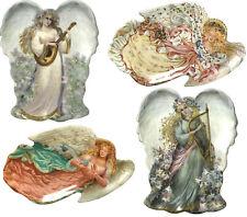 Lot Of 4 Porcelain Angels Bradford Exchange Collectors Plates