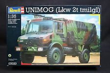 XR001 REVELL 1/35 maquette camion militaire 03020 Unimog Lkw 2t tmilgl mercedes