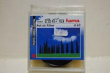 filtre HAMA polarisant 67mm neuf