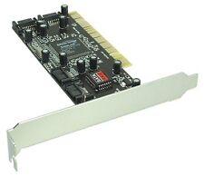 Schnittstellenkarte SATA RAID Controller Karte 4-kanal PCI