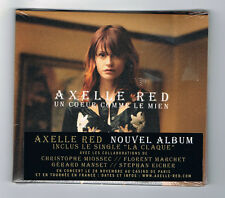 AXELLE RED - UN COEUR COMME LE MIEN - CD 13 TITRES - 2011 - NEUF NEW NEU