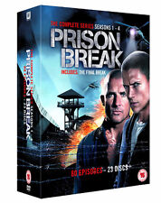 Prison Break (Complete Seasons 1-4) NEW PAL Cult 23-DVD Set Dominic Purcell