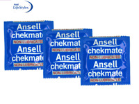 Ansell LifeStyles Chekmate NON Lubricated 12 Condoms Bulk Buy Pack