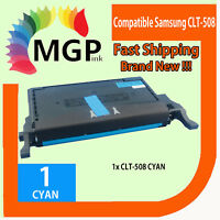 1x Compatible Cyan Toner for Samsung CLT508L CLT-C508L CLP670ND CLX6220