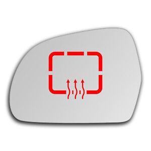 Left Side Clip On Heated Mirror Glass for Skoda Superb 2008 - 2015 0267LSHP