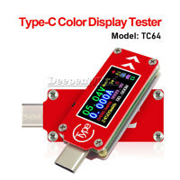 Type-C LCD PD Charger TC64 USB Tester Voltage Current Capacity Detector Meter