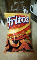 NEW Fritos Flamin Hot Corn Chips 9.25 Oz BIG BAG Snacks Frito Lay HOT CHIPS