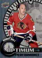 2016-17 Upper Deck Overtime Optimum Performance Bobby Hull #OP-10