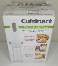 Cuisinart CCP-10 Electric Cookie Press White 12 Discs