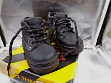 Skechers Baby Work Team Shoes 12001N/BKS Size 5 Black Toddler  Work Boot