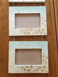 Triple Photo Picture Frame Set - 6x4 Size