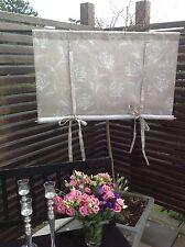 Raffrollo *ROSE* Rollgardine 160x100 Shabby Chic Curtain Landhaus