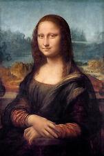 Leonardo Da Vinci, The Mona Lisa, Monna Lisa, Museum Art Poster, Canvas Print