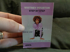 WHITNEY HOUSTON_Step By Step_ used cassette_ships from AUS!_R1