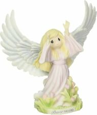 Precious Moments Praise The Lord Inspirational Angel Resin Figurine 172412 Nib