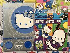 Sanrio Hello Kitty Promo Date Mate Datemate Calendar 2000 & 1999 Booklet Vintage