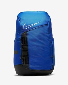 NIKE Hoops Elite Pro Unisex  Backpack Game Royal Black BA6164-480 Fast Shipping
