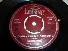 "MAUREEN EVANS - Goodbye Jimmy Goodbye - 1959 UK 2-track 7"" vinyl single"