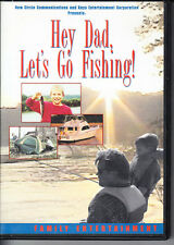Hey Dad Let's Go Fishing! -- DVD Rare -- Family Entertainment