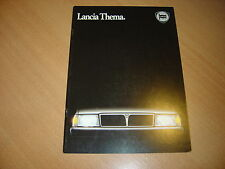 CATALOGUE Lancia Thema de 1985